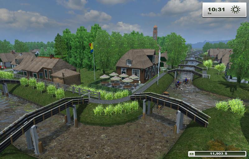 Giethoorn Karte.Fs 2013 Giethoorn V 1 1 Maps Mod Fur Farming Simulator 2013