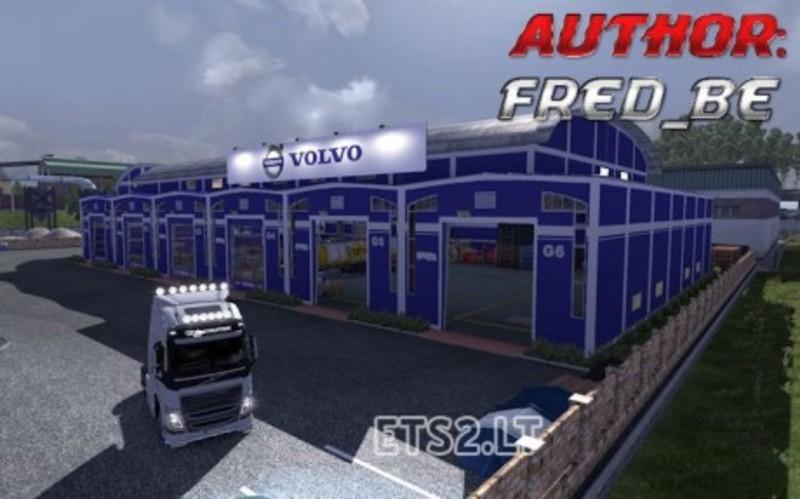 Ets 2 Garage Custom Volvo V 1 9 22 Sonstige Mod F 252 R