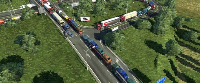 Stau-mod-traffic-jam