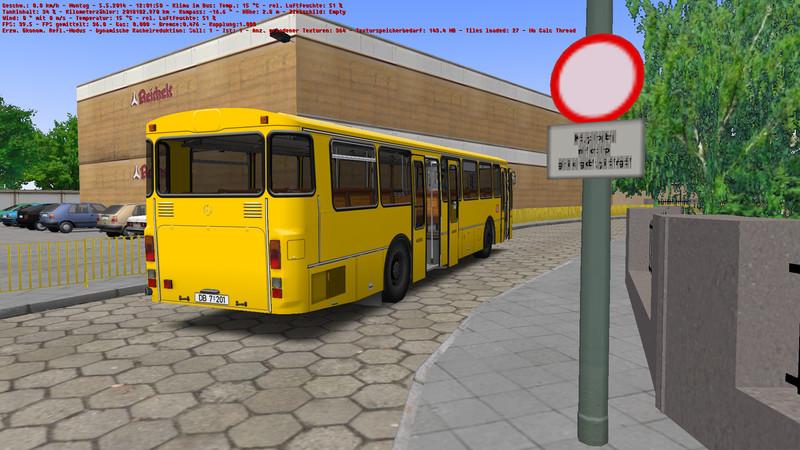 omsi: Mercedes Benz Ø305 v 1 2 1 New buses Mod für OMSI 2
