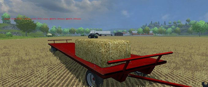 JBM Square Bale Trailer v 1.0 MR image