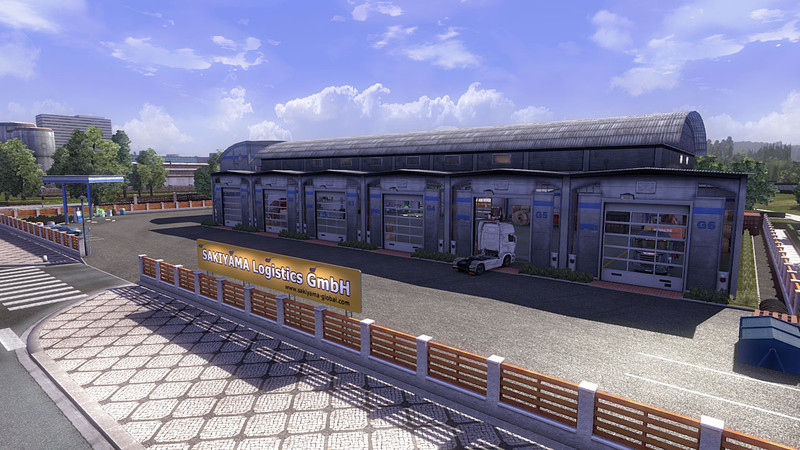 Ets 2 Custom Large Garage Type A V 1 15 1 1 Mods Mod F 252 R