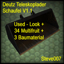 Deutz-teleskoplader-schaufel