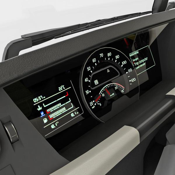 ETS 2: New dashboard v 1.2 Volvo Mod für Eurotruck Simulator 2