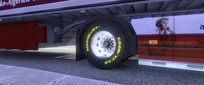Scania Wheels mit Goodyear Schirft Yellow v 1.9.22-1.10.0 ets2 image