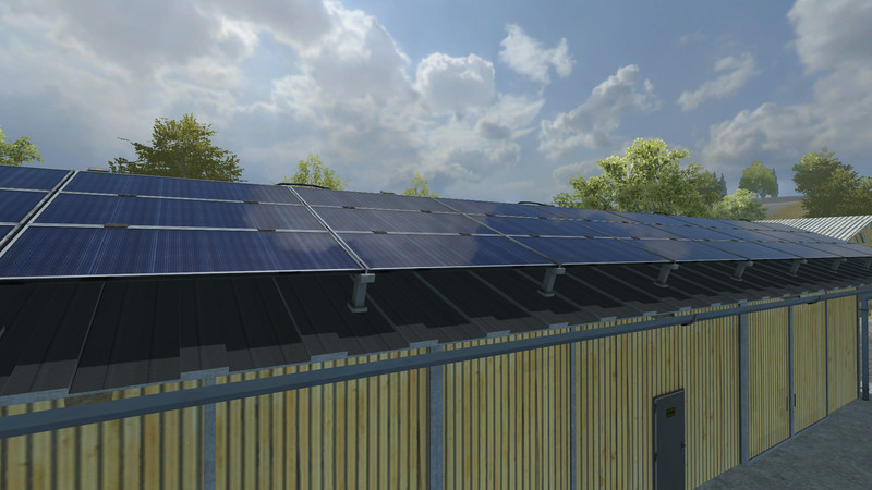 Fs 2013 Vehicle Depot With Solar Panel V 1 0 Buildings