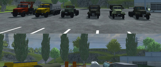 KrAZ and Trailers Pack v 2.0 image