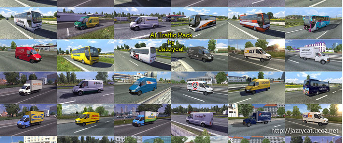 AI Traffic Package v 1.2 ets2 image