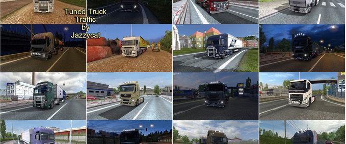 Tuned truck traffic v 1.0 ets2 image