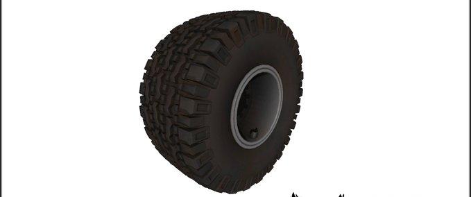 Knobby tires v 1.0 image