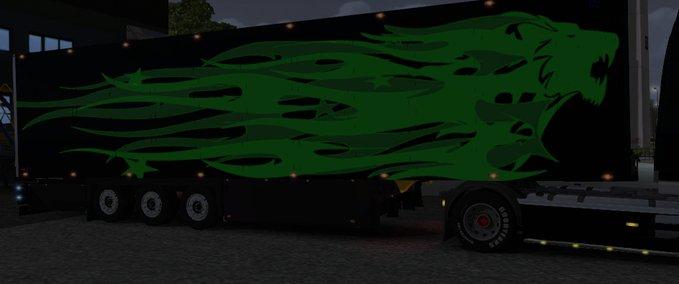 Cool Liner Green Black v 1.0 ets2 image