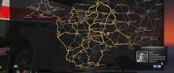 ETS 2 save game v1.0