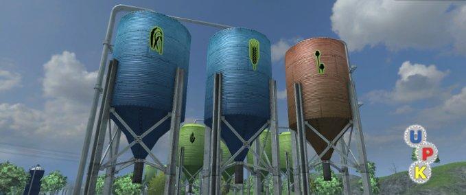 Platzierbare-silos