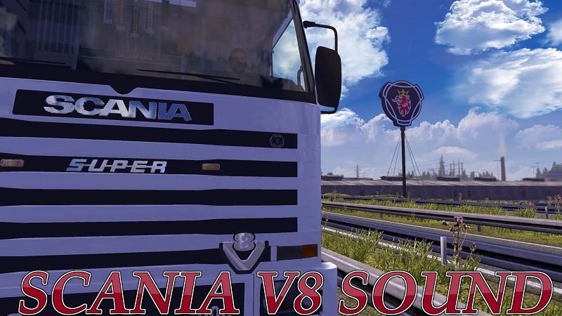 ETS 2: Scania V8 Sound v 5 0 - 1 10 x Sound Mod für