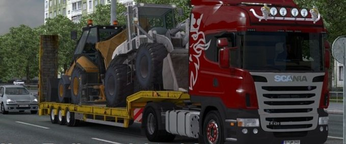 New Trailer Weight v 1.10.x ets2 image