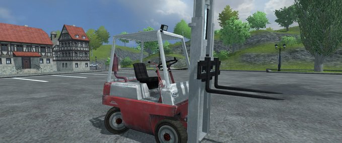 Linde forklift package with pallet v 1.0 image