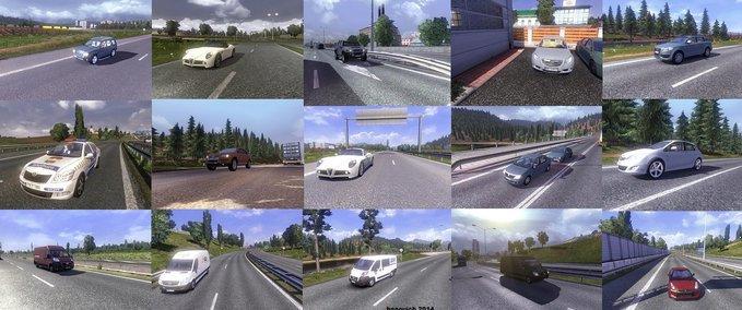 Mega Ai Traffic Mod v 3.7.1 ets2 image
