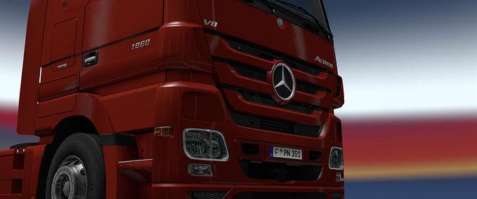 Mercedes Benz logo mod v 1.10.+ ets2 image