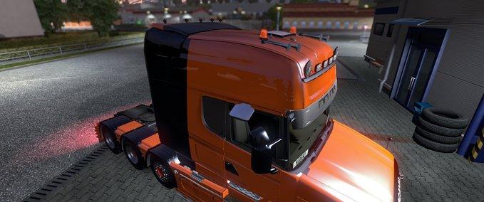 Orange Black v 1.9.24.1 ets2 image