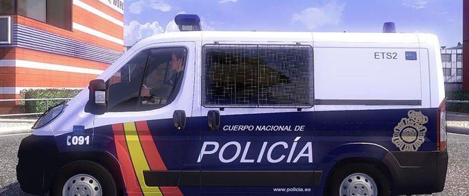 Ai € Police v 1.0 ets2 image