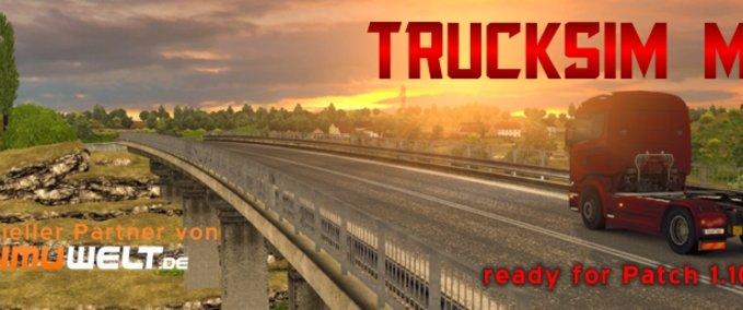 TruckSim Map v 5.0 ets2 image