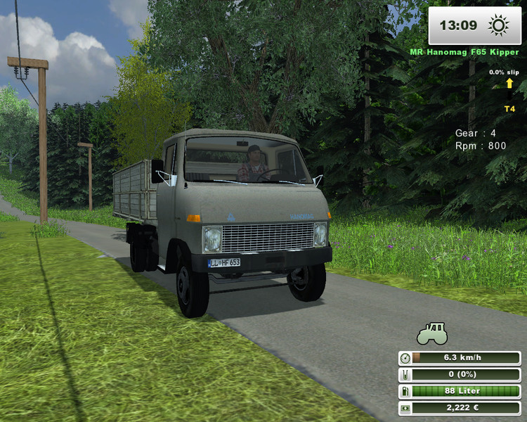 (LS 2013) MR-Hanomag F65 Kipper v 1.1.2