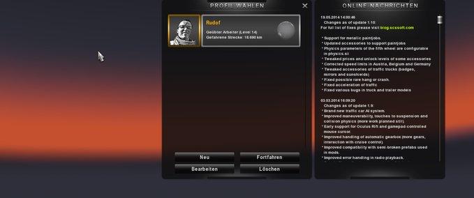 Super Savegame v 1.10.1 ets2 image