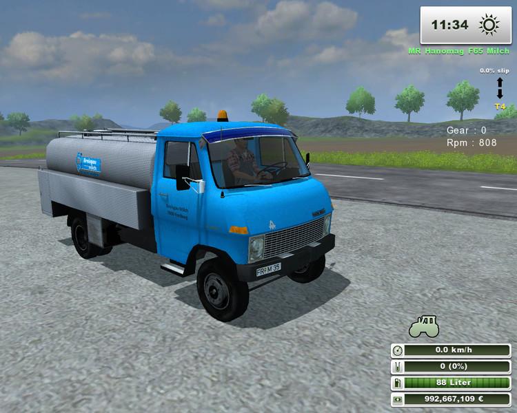 (LS 2013) MR-Hanomag F65 Milchtanker v 1.0.2