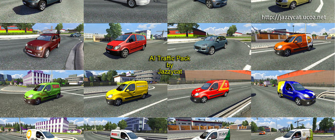 Traffic Package v 1.3.7 ets2 image