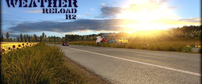 Improved Weather reload v 2.0 ets2 image