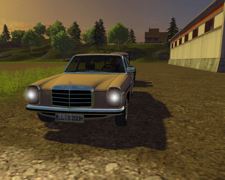 (LS 2013) MR-Mercedes Benz 200D v 1.0.0