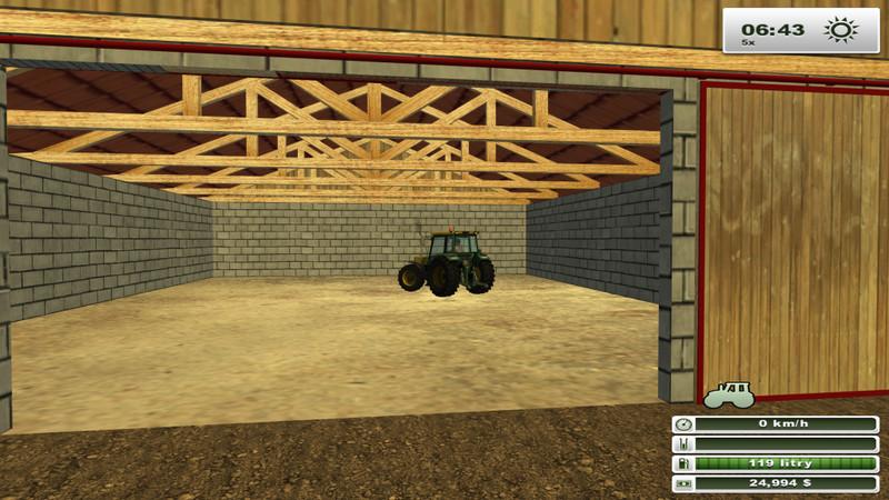 fs 2013 big garage v 4 0 objects mod f r farming. Black Bedroom Furniture Sets. Home Design Ideas