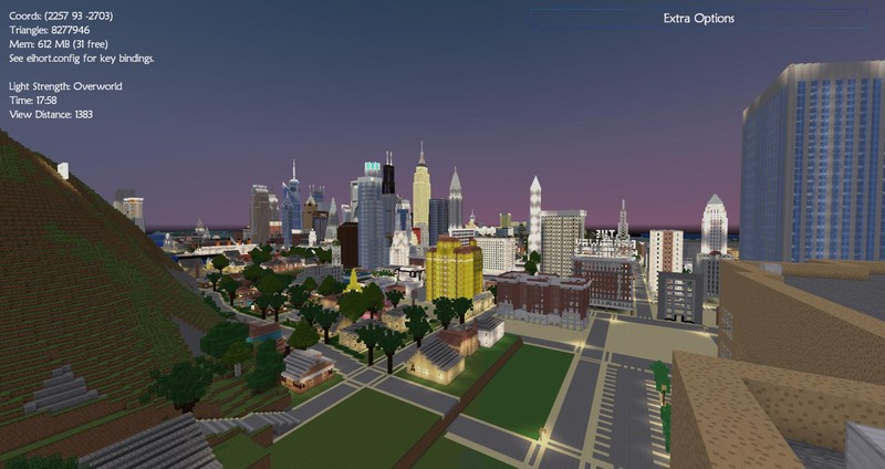 Minecraft American Biggest Cities Map V Maps Mod Für Minecraft - Geile maps fur minecraft downloaden