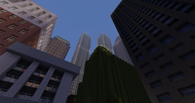 Minecraft American Biggest Cities Map v 10 Maps Mod fr Minecraft