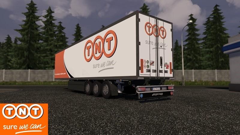 Volvo Truck Curtain Slide Ets 2 Coolliner Tnt V 1 10 X