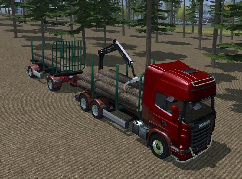 Scania R730 Timber V 2.0