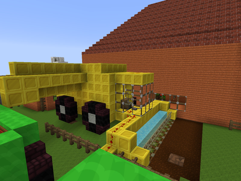 Minecraft Farm House With Light V 1 7 2 Maps Mod Fur Minecraft