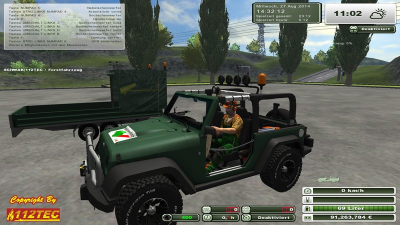 Jeep Wrangler v 1.02 Forest Edition