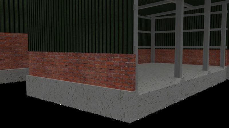 Garaż na maszyny V 1.0