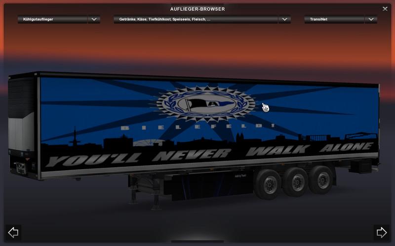 ets 2 arminia bielefeld v 1 0 skins mod f r eurotruck simulator 2. Black Bedroom Furniture Sets. Home Design Ideas