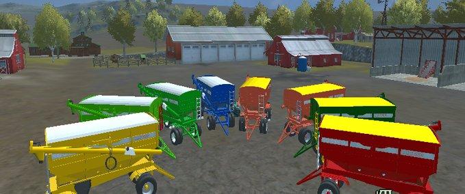 FS Tolva Semillera Gimetal AC V Overloader Mod Für - Argentina map farming simulator 2013