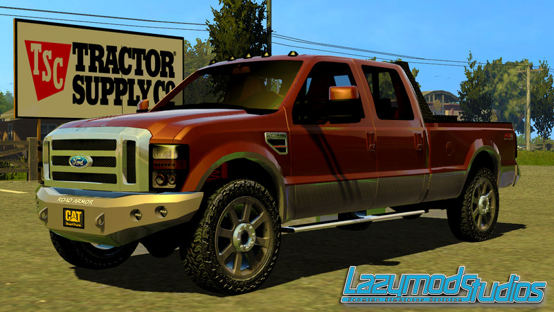 fs 2013 ford f 250 king ranch v 1 0 trucks mod f r farming simulator 2013. Black Bedroom Furniture Sets. Home Design Ideas