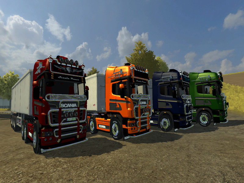 Scania R 560 Pack