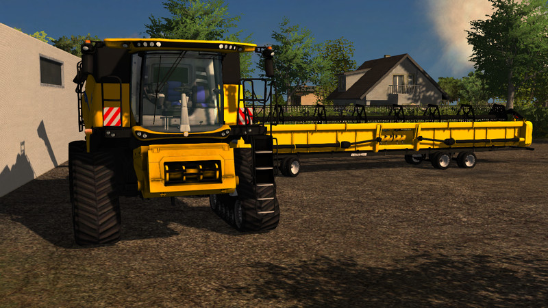 (LS 2013) New Holland CR Combines v 1.0