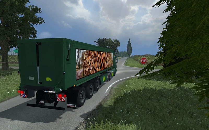 (LS 2013) Scania R420 Kröger SRB35 v 1.0 Forst Edition by speedy77
