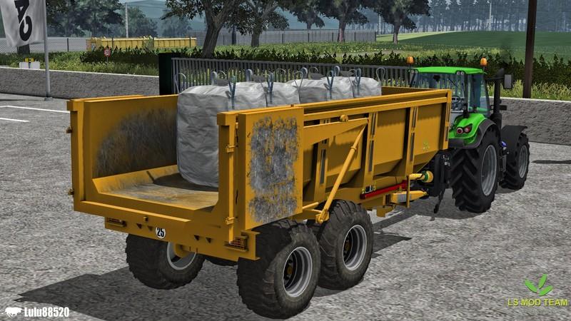 FS 2013: Maitre BMM 140 v 1 1 MR Tandem Mod für Farming Simulator 2013