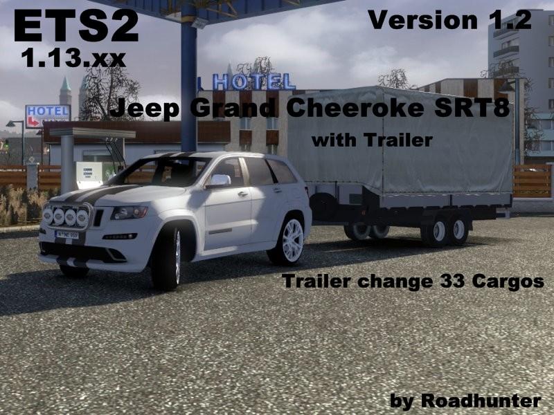 Ets 2 Grand Cherokee Srt8 V 1 2 Sonstige Mod F 252 R