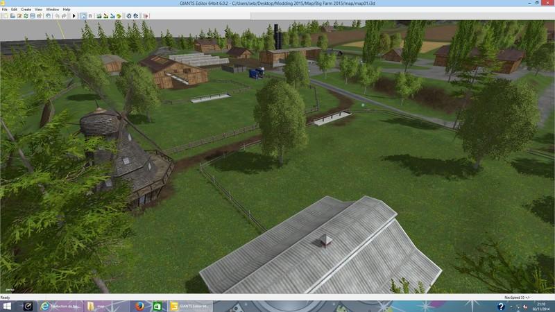 FS Big Farm V Default Map Edit Mod Für Farming Simulator - Norway map fs 15