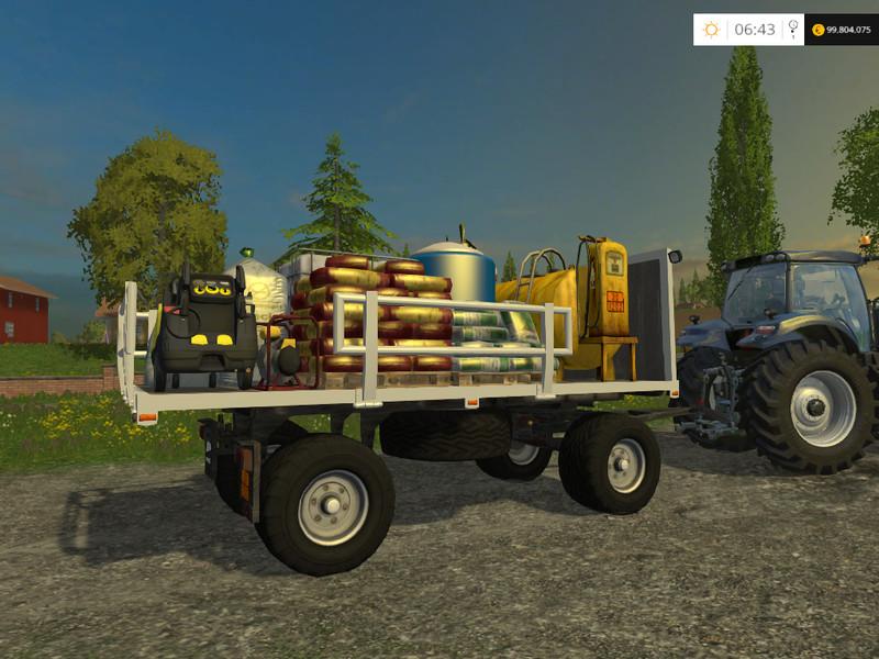 Fs 15 Hw 80 Trailer Service V 3 0 Beta Other Trailers Mod F 252 R Farming Simulator 15