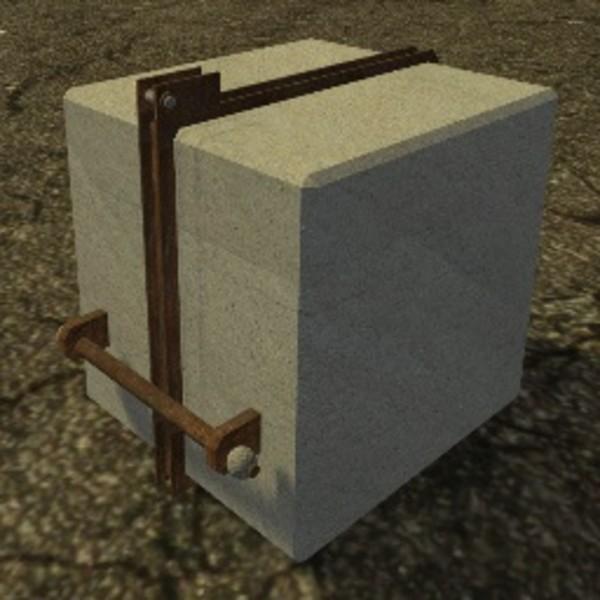 ls 15 eigenbau betongewicht 1500 kg v 1 0 gewichte mod f r landwirtschafts simulator 15. Black Bedroom Furniture Sets. Home Design Ideas